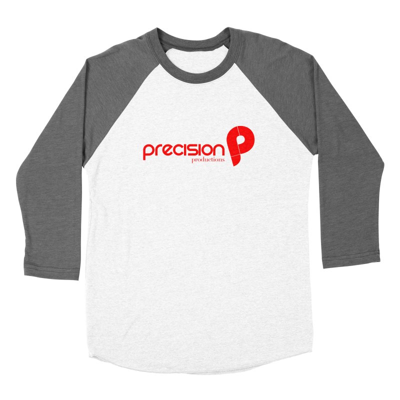 Precision Logo (Red) Women's Longsleeve T-Shirt by Precision Productions Artiste Shop