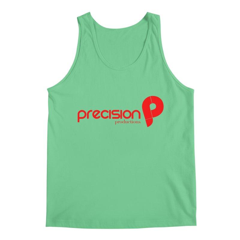 Precision Logo (Red) Men's Tank by Precision Productions Artiste Shop