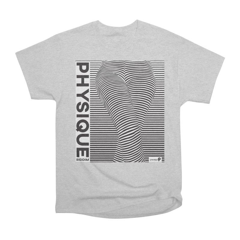 Physique Riddim Women's Heavyweight Unisex T-Shirt by Precision Productions Artiste Shop