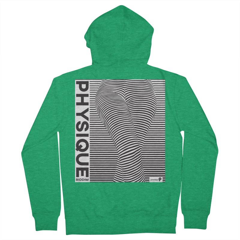 Physique Riddim Women's Zip-Up Hoody by Precision Productions Artiste Shop