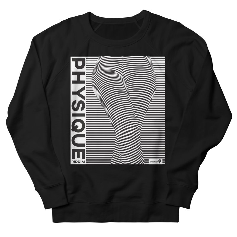 Physique Riddim Men's French Terry Sweatshirt by Precision Productions Artiste Shop