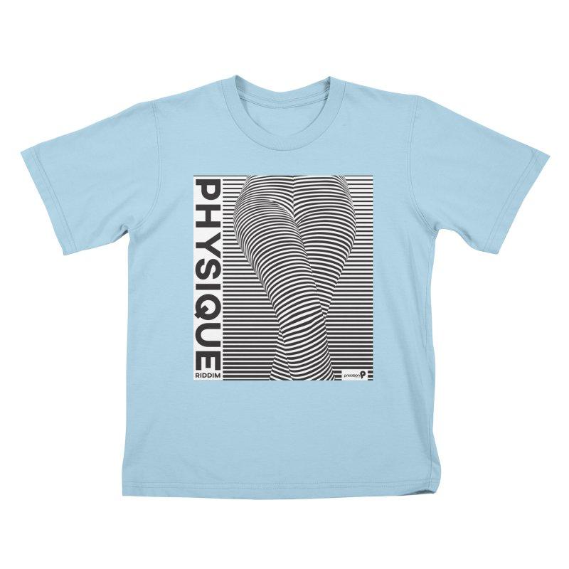Physique Riddim Kids T-Shirt by Precision Productions Artiste Shop