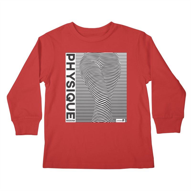 Physique Riddim Kids Longsleeve T-Shirt by Precision Productions Artiste Shop