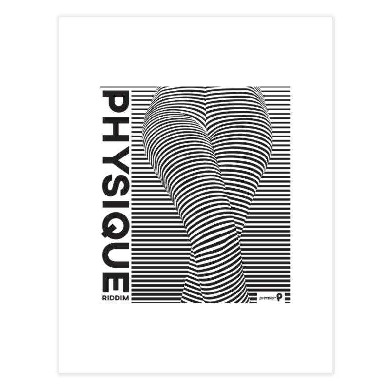 Physique Riddim Home Fine Art Print by Precision Productions Artiste Shop