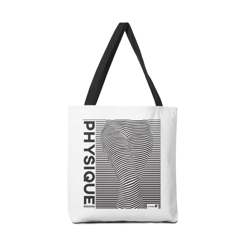 Physique Riddim Accessories Tote Bag Bag by Precision Productions Artiste Shop
