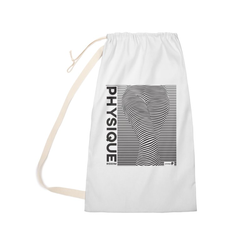 Physique Riddim Accessories Laundry Bag Bag by Precision Productions Artiste Shop