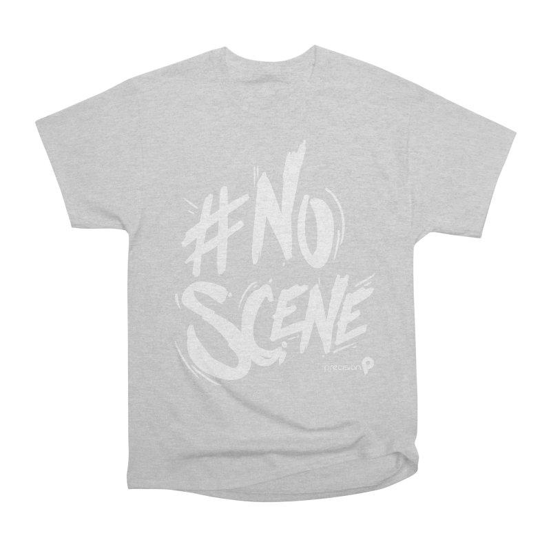 No Scene (White) Women's T-Shirt by Precision Productions Artiste Shop