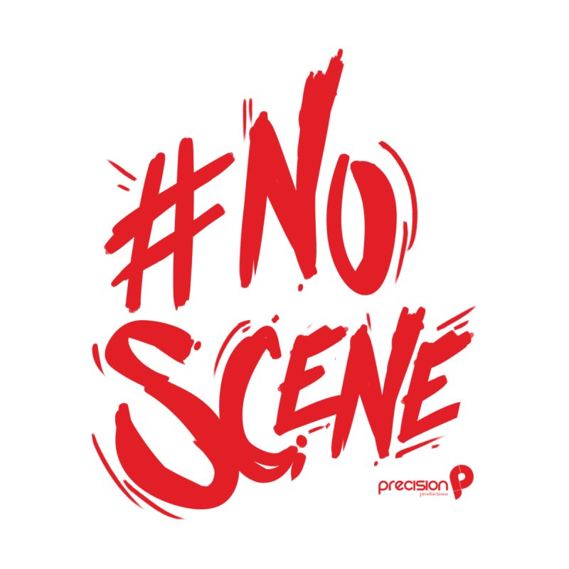No Scene (Red) Home Fine Art Print by Precision Productions Artiste Shop
