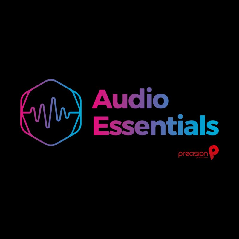 Audio Essentials Logo Women's T-Shirt by Precision Productions Artiste Shop