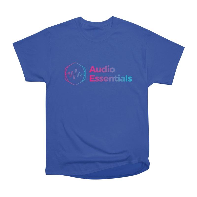 Audio Essentials Logo Men's T-Shirt by Precision Productions Artiste Shop