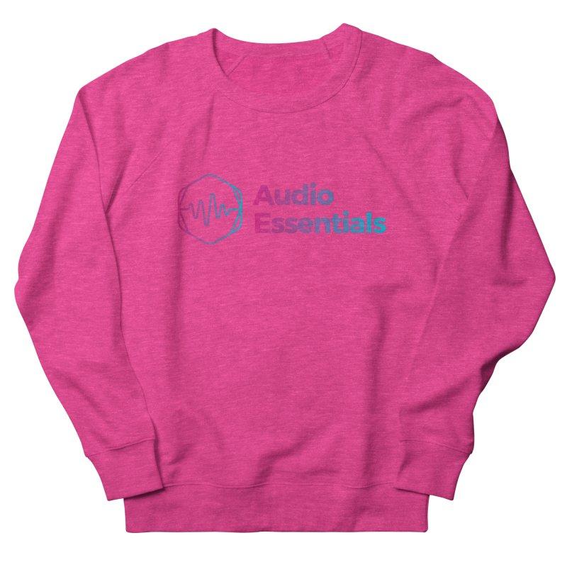 Audio Essentials Logo Men's French Terry Sweatshirt by Precision Productions Artiste Shop