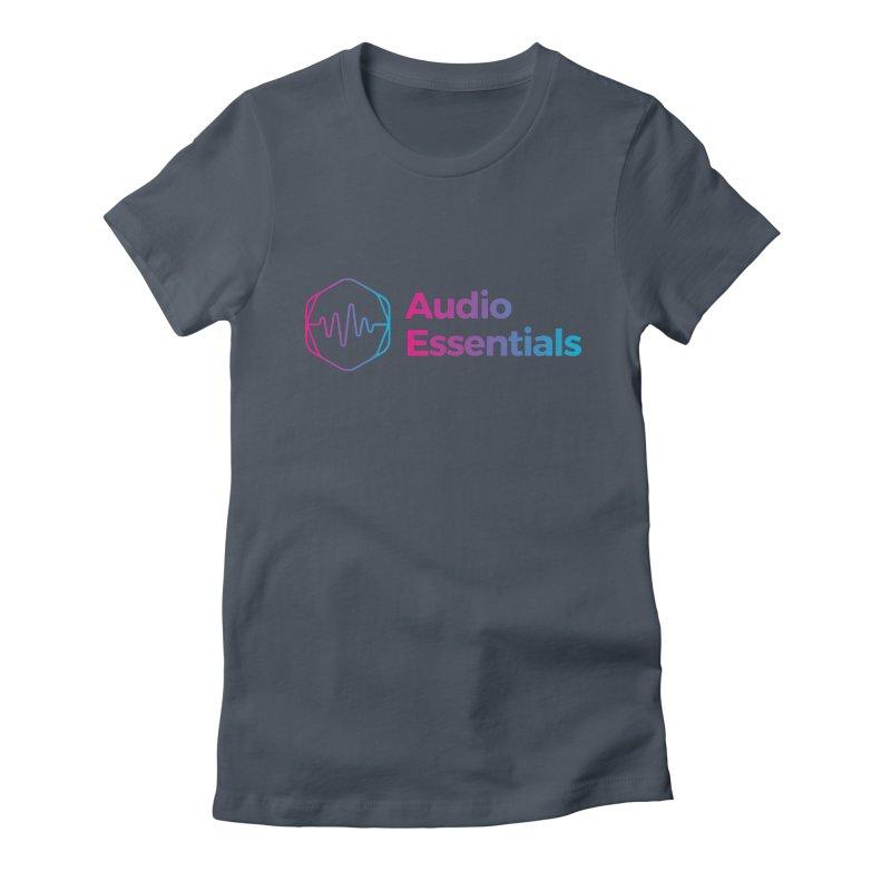 Audio Essentials Logo Women's T-Shirt by Precision Productions Artiste Shop
