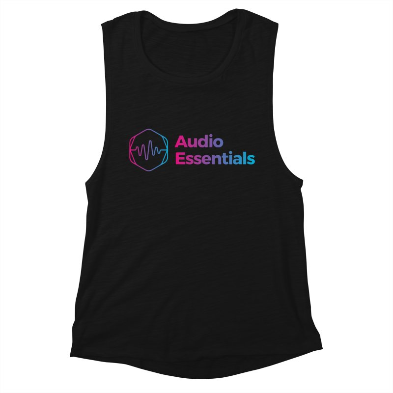 Audio Essentials Logo Women's Tank by Precision Productions Artiste Shop