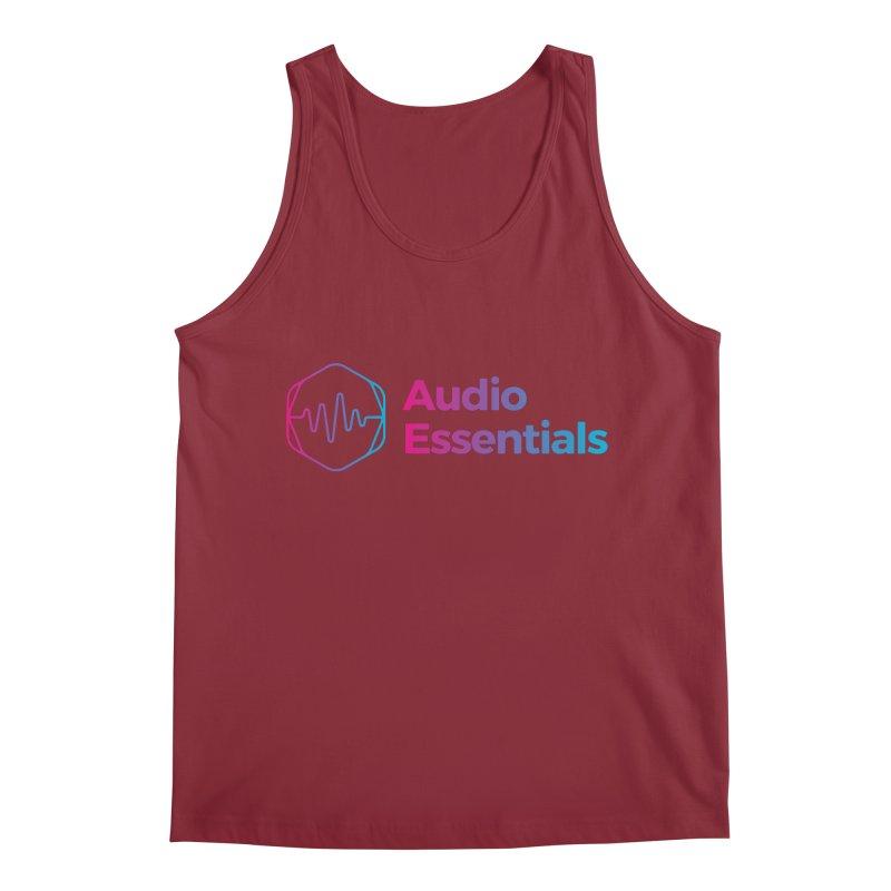 Audio Essentials Logo Men's Tank by Precision Productions Artiste Shop