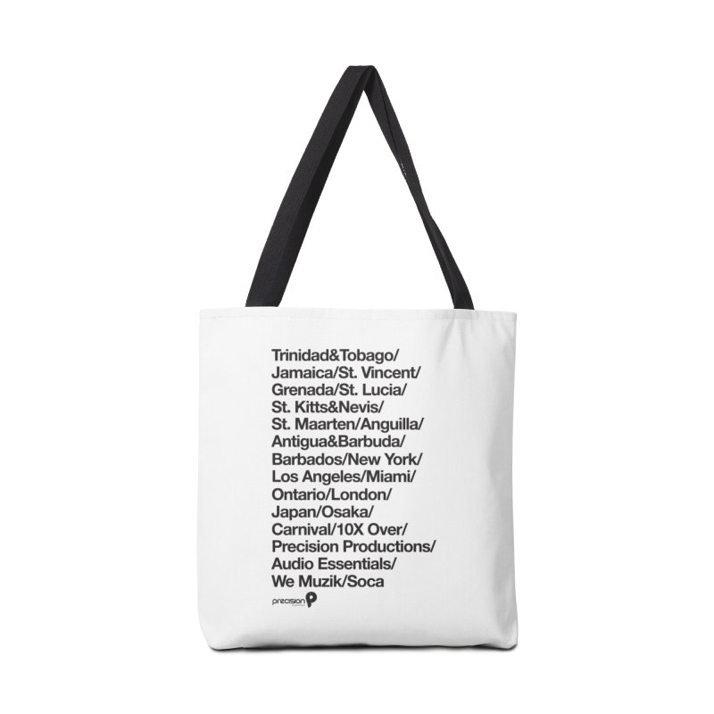 Countries Tee! Accessories Tote Bag Bag by Precision Productions Artiste Shop