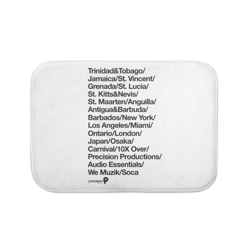 Countries Tee! Home Bath Mat by Precision Productions Artiste Shop