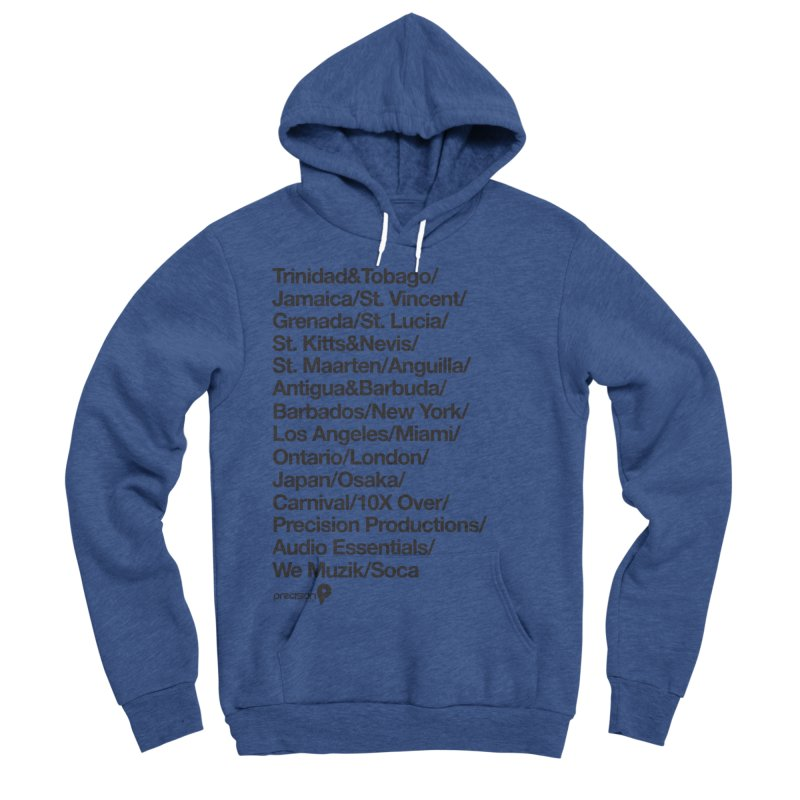 Countries Tee! Men's Sponge Fleece Pullover Hoody by Precision Productions Artiste Shop