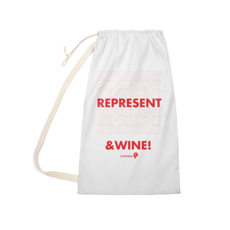 Represent & Wine Accessories Laundry Bag Bag by Precision Productions Artiste Shop