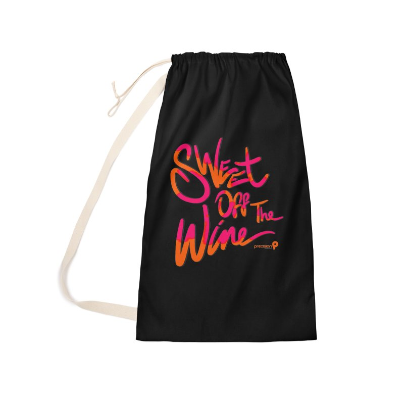Sweet Off The Wine Accessories Laundry Bag Bag by Precision Productions Artiste Shop