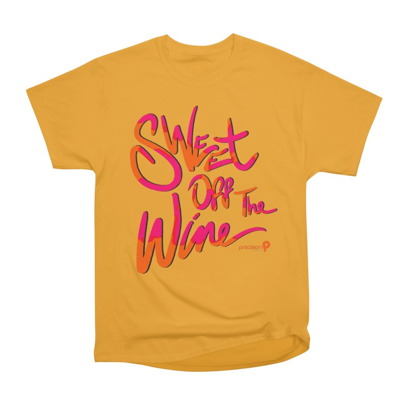 Sweet Off The Wine Men's T-Shirt by Precision Productions Artiste Shop