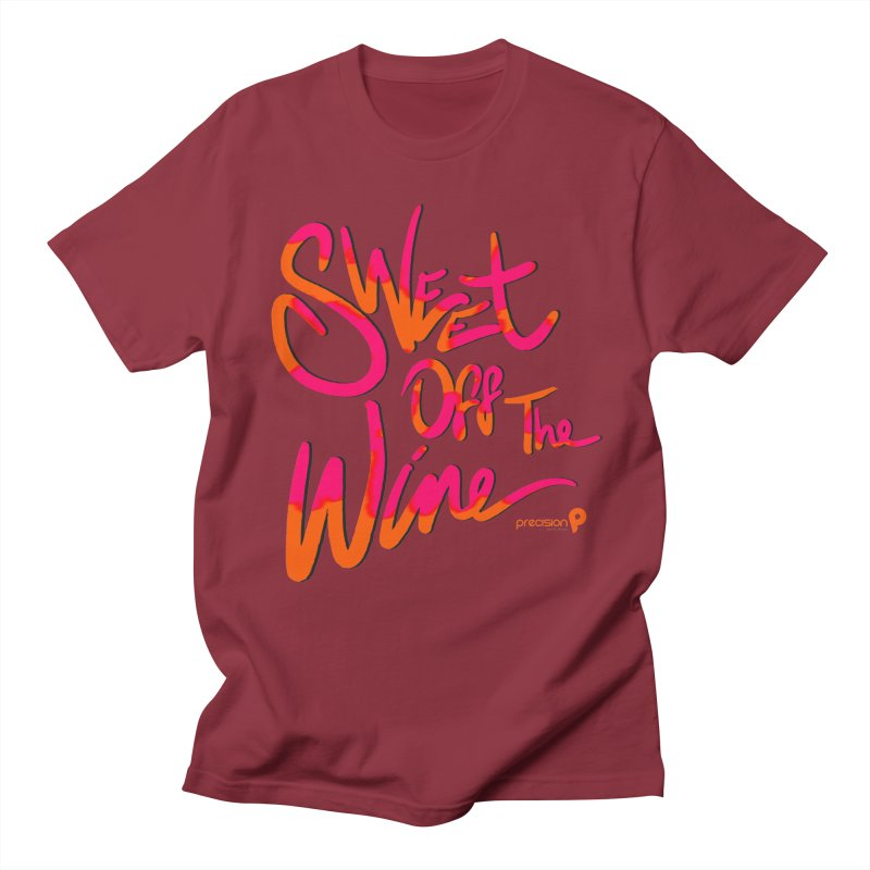 Sweet Off The Wine Men's Regular T-Shirt by Precision Productions Artiste Shop