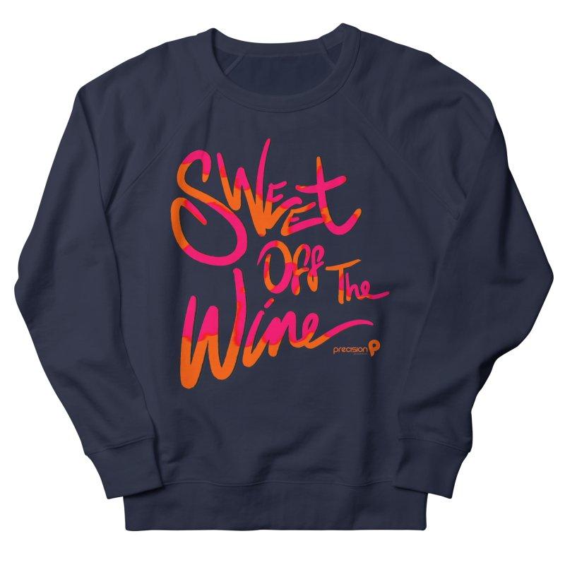Sweet Off The Wine Men's Sweatshirt by Precision Productions Artiste Shop