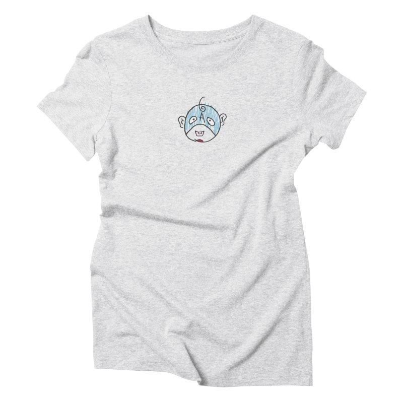 Baby Cap Super Hero Women's Triblend T-Shirt by Presley Design Studio Shop