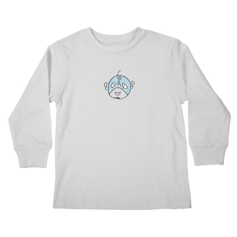 Baby Cap Super Hero Kids Longsleeve T-Shirt by Presley Design Studio Shop