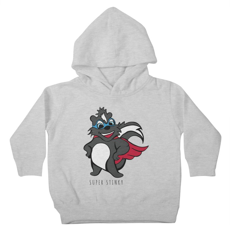 Super Hero Stinky Skunk Kids Toddler Pullover Hoody by Presley Design Studio Shop