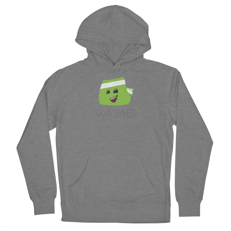 I Love Wasabi Women's French Terry Pullover Hoody by Presley Design Studio Shop
