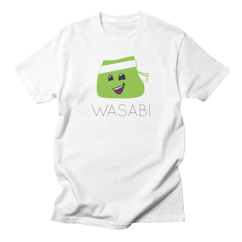 I Love Wasabi Men's Regular T-Shirt by Presley Design Studio Shop
