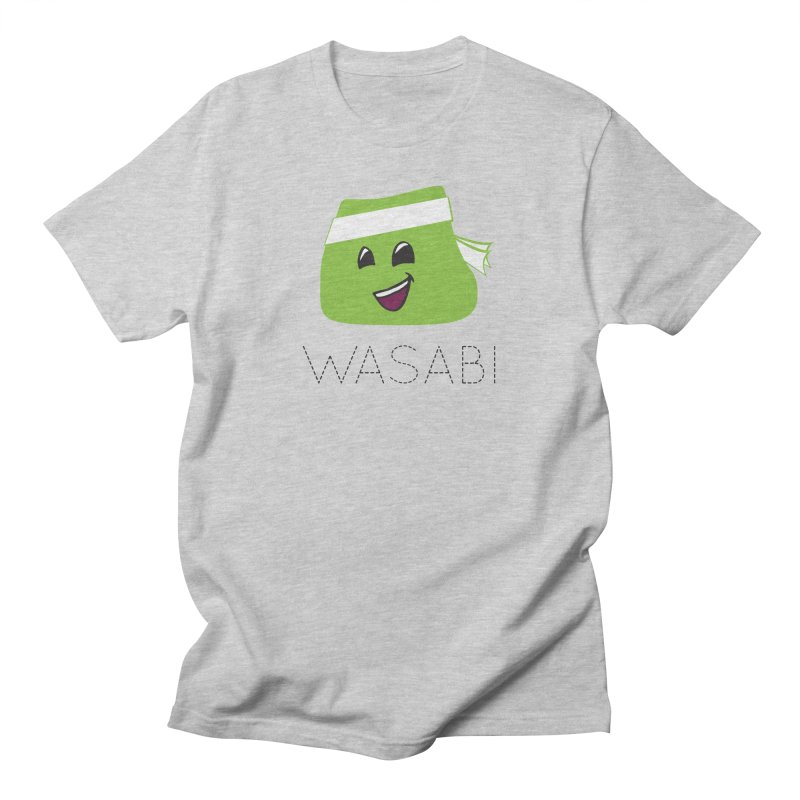 I Love Wasabi Men's Regular T-Shirt by Presley Design Studio Shop