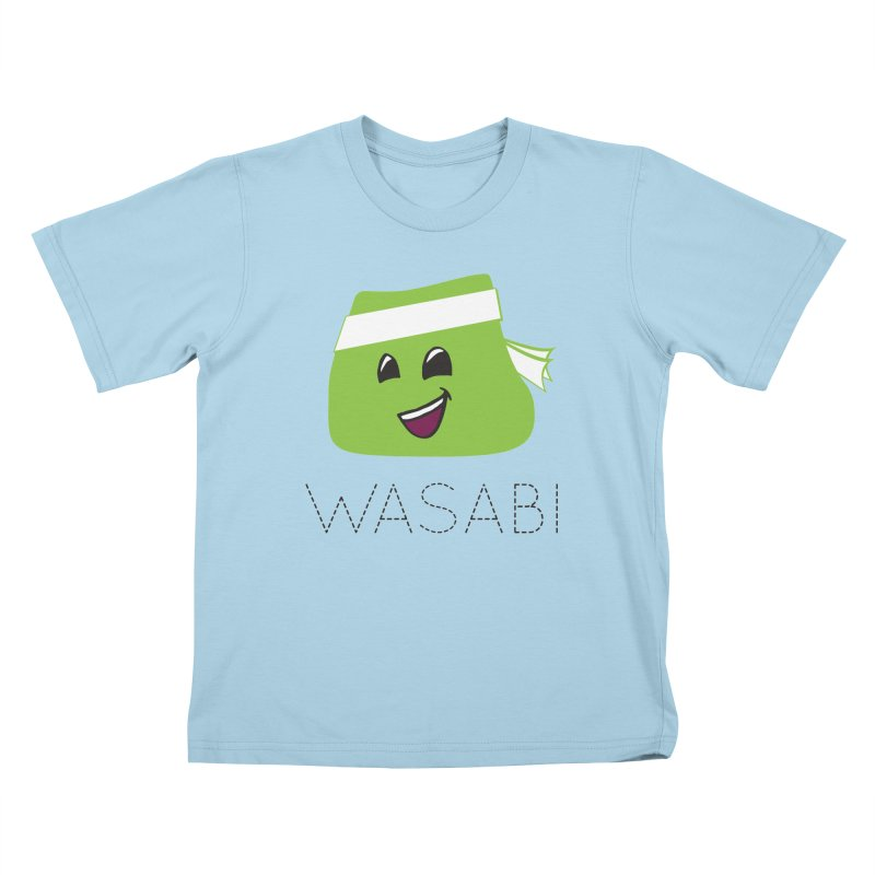 I Love Wasabi Kids T-Shirt by Presley Design Studio Shop