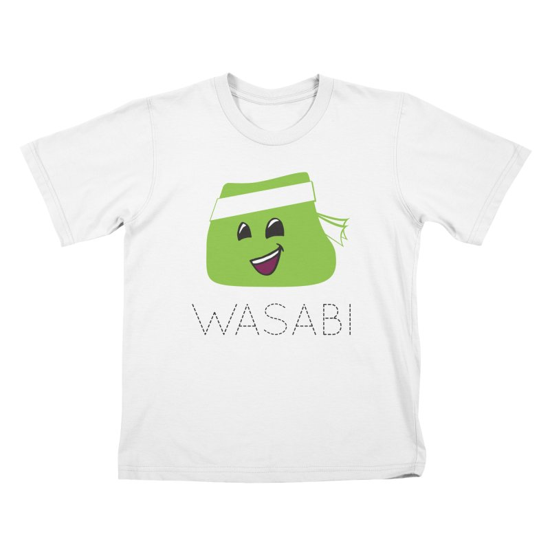I Love Wasabi Kids T-Shirt by Presley Design Studio Shop