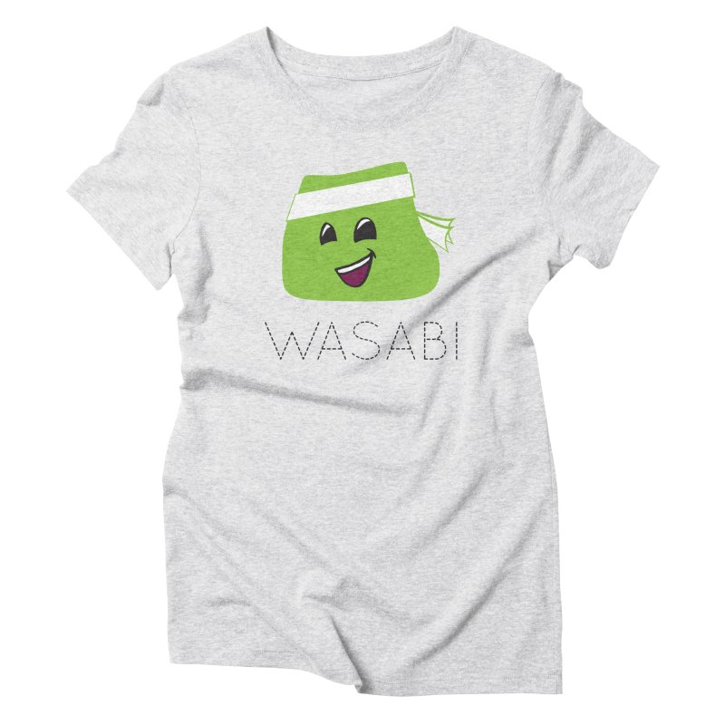 I Love Wasabi Women's Triblend T-Shirt by Presley Design Studio Shop