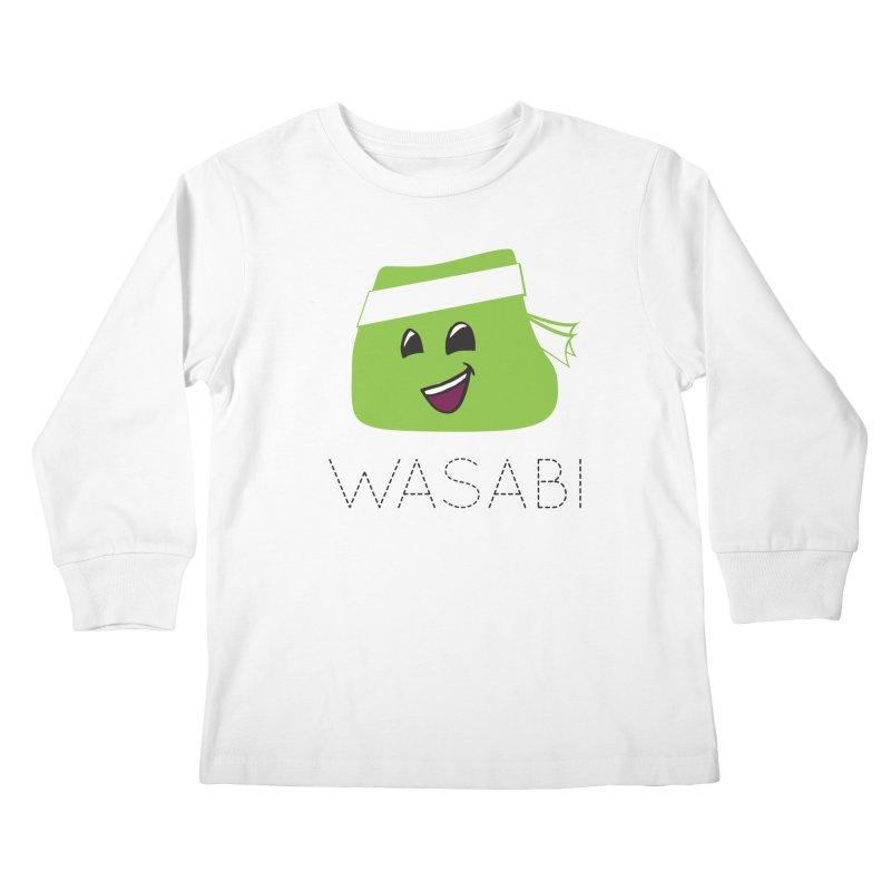I Love Wasabi Kids Longsleeve T-Shirt by Presley Design Studio Shop