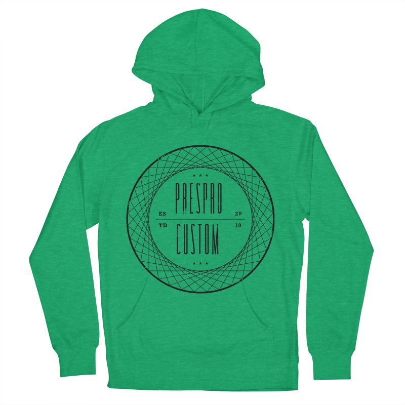PC-BLACK INK Women's Pullover Hoody by PRESPRO CUSTOM HOMES