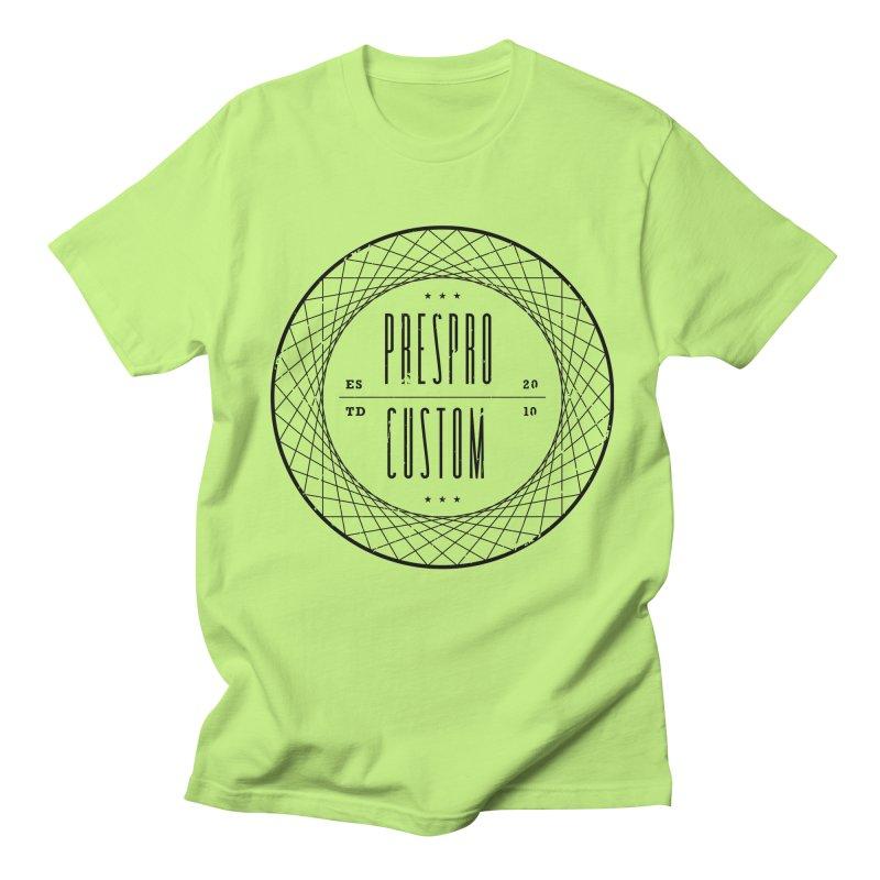 PC-BLACK INK Women's Unisex T-Shirt by PRESPRO CUSTOM HOMES