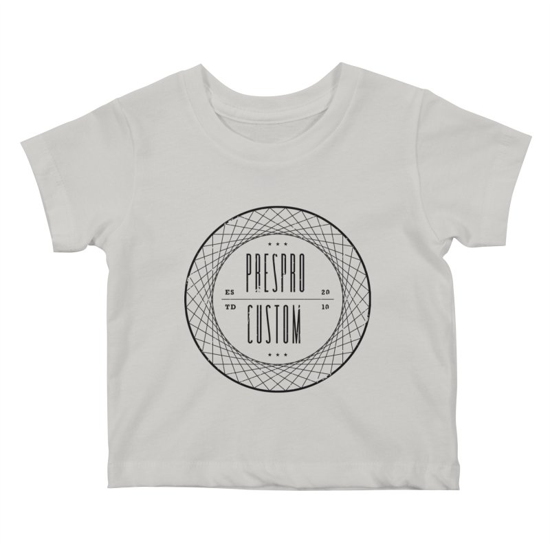 PC-BLACK INK Kids Baby T-Shirt by PRESPRO CUSTOM HOMES