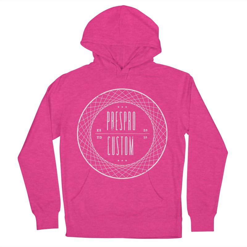 PC-WHITE INK Women's Pullover Hoody by PRESPRO CUSTOM HOMES