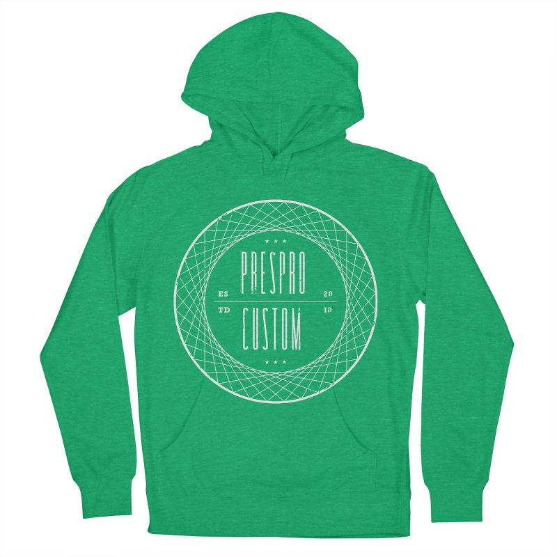 PC-WHITE INK Men's Pullover Hoody by PRESPRO CUSTOM HOMES