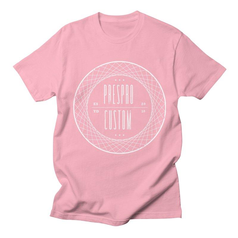 PC-WHITE INK Men's Regular T-Shirt by PRESPRO CUSTOM HOMES