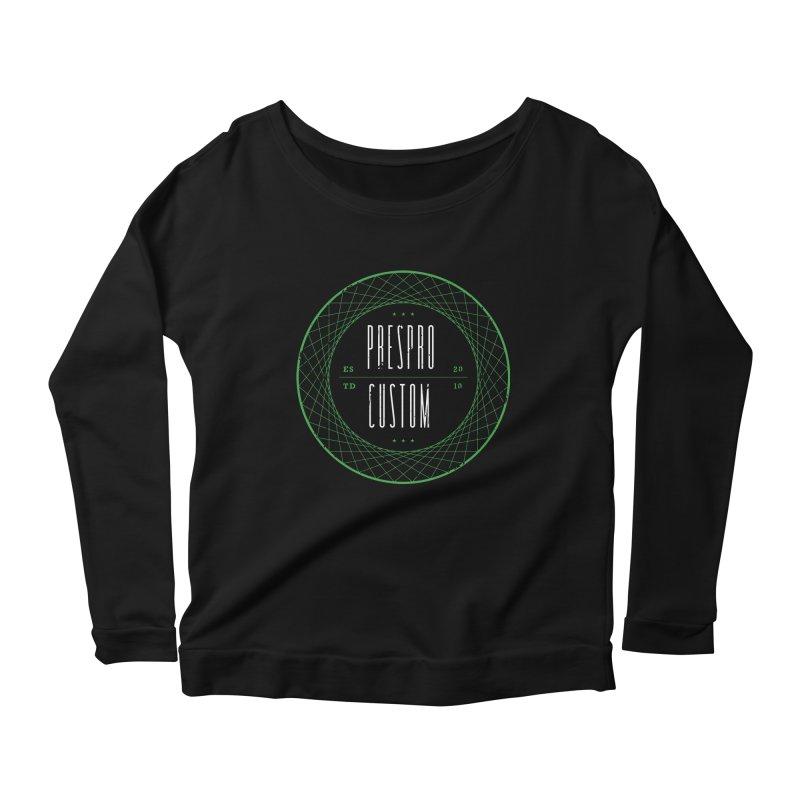 PC Women's Scoop Neck Longsleeve T-Shirt by PRESPRO CUSTOM HOMES
