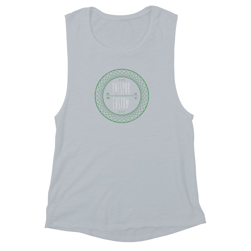 PC Women's Muscle Tank by PRESPRO CUSTOM HOMES