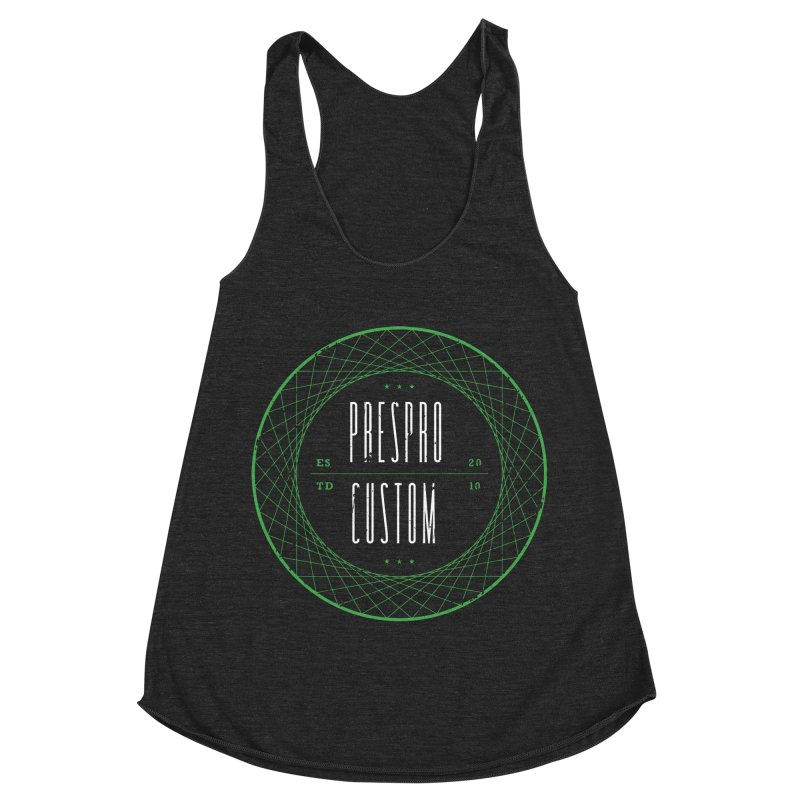 PC Women's Racerback Triblend Tank by PRESPRO CUSTOM HOMES