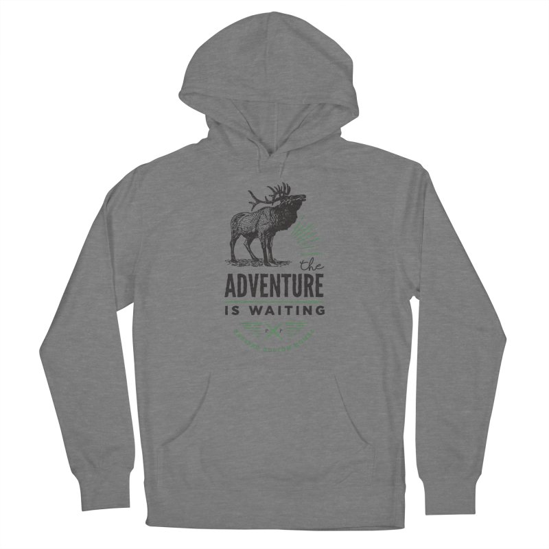 ADVENTURE IS WAITING Women's Pullover Hoody by PRESPRO CUSTOM HOMES