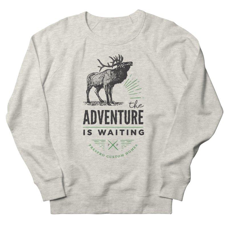 ADVENTURE IS WAITING Men's Sweatshirt by PRESPRO CUSTOM HOMES