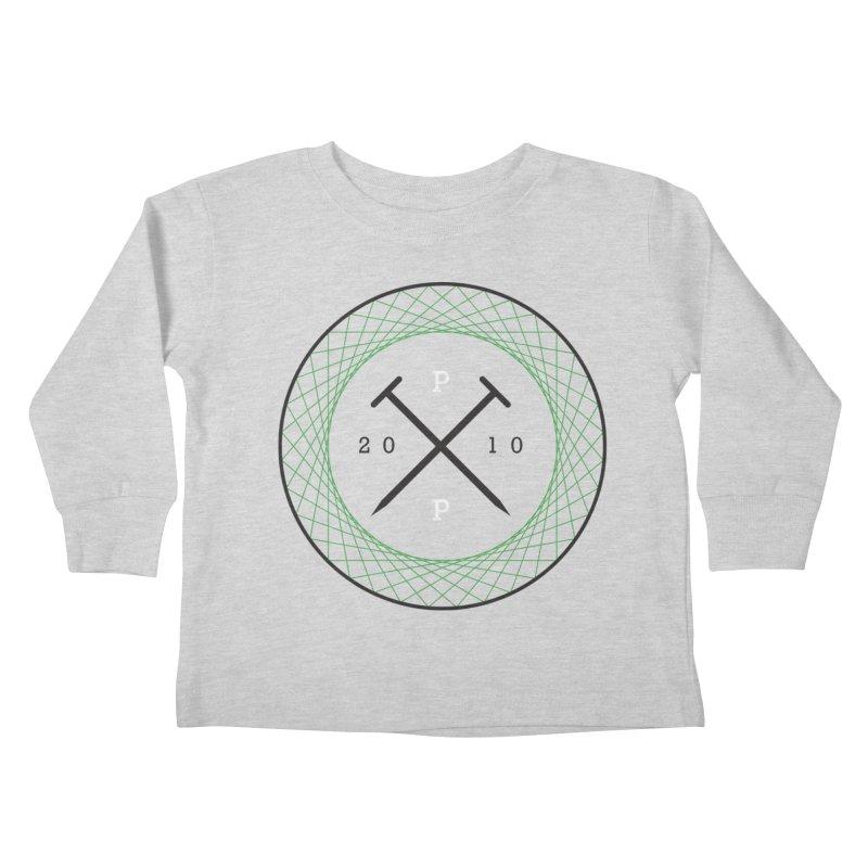 CROSSED NAILS Kids Toddler Longsleeve T-Shirt by PRESPRO CUSTOM HOMES