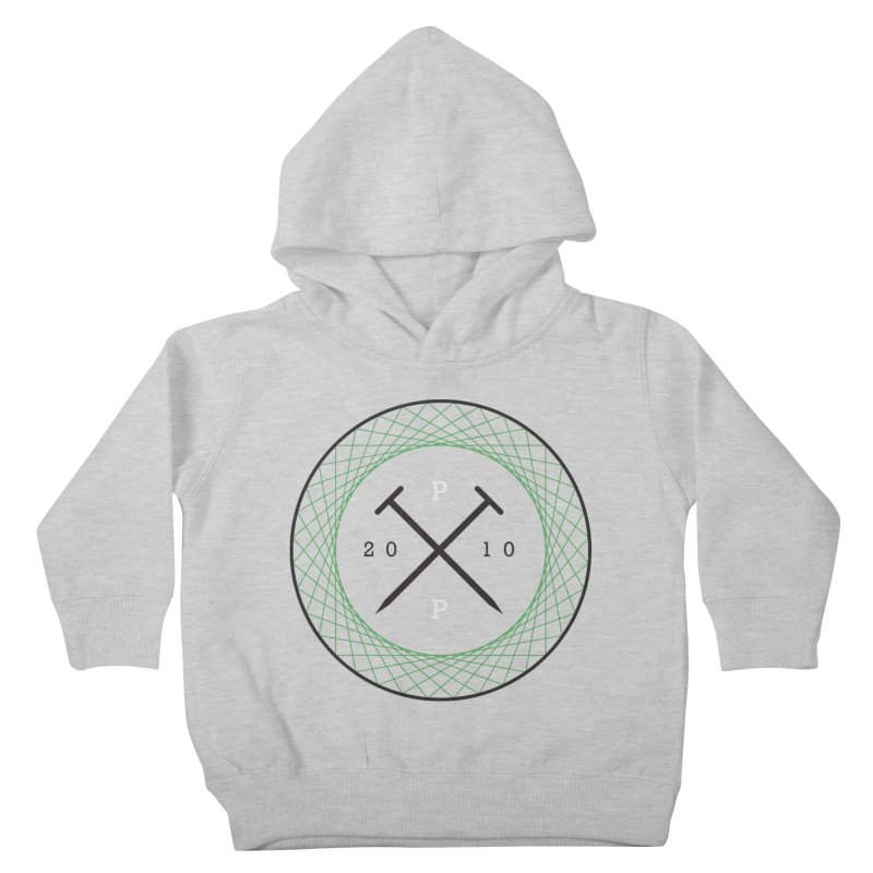 CROSSED NAILS Kids Toddler Pullover Hoody by PRESPRO CUSTOM HOMES