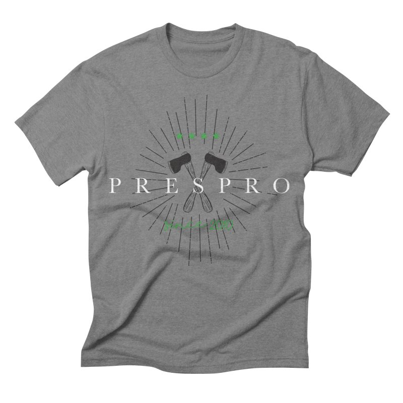 AXES Men's Triblend T-shirt by PRESPRO CUSTOM HOMES